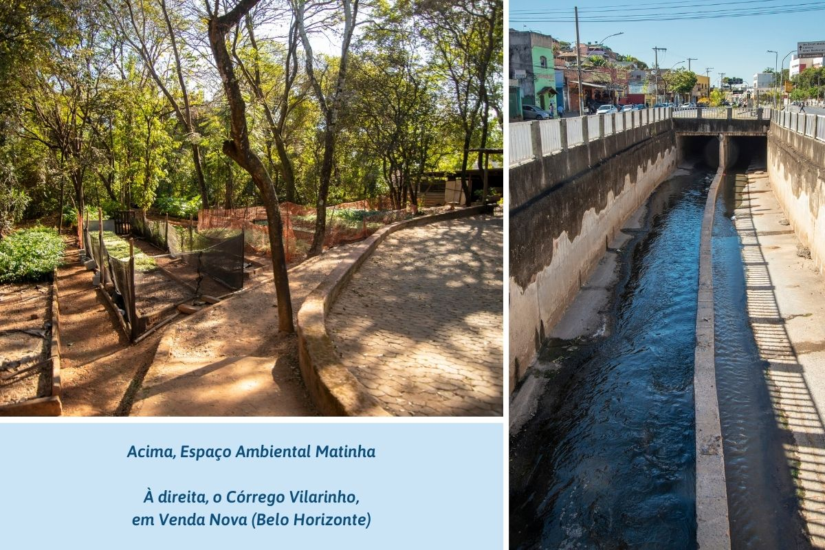 Espaço Ambiental Matinha e Córrego Vilarinho, em Venda Nova