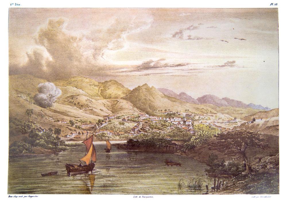 Pintura de Sabará, por Rugendas
