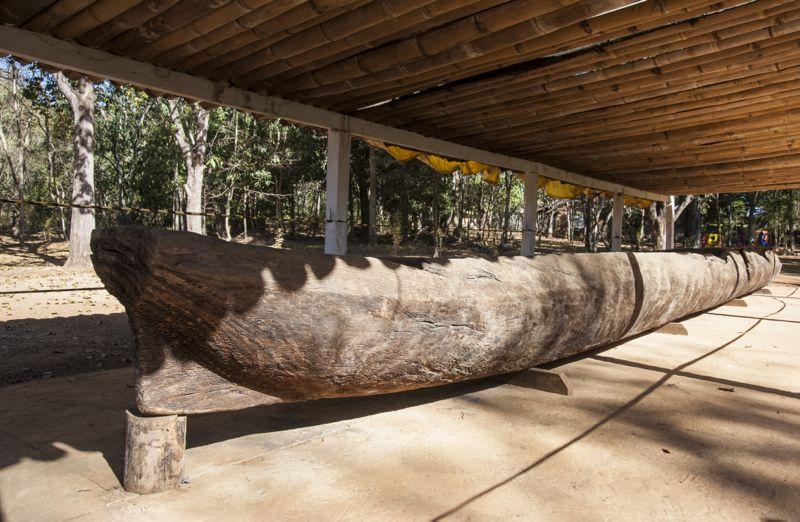 Canoa em Quinta do Sumidouro
